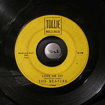 Tollie Record Label 45 ofBeatles