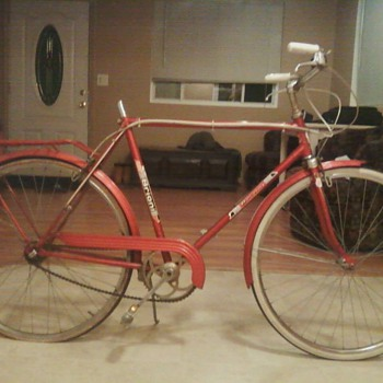 Original Brioni Bike thats red
