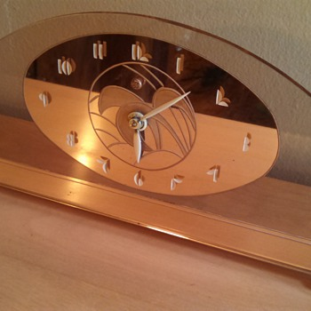 Art Deco General Electric Alencon Mantle Clock