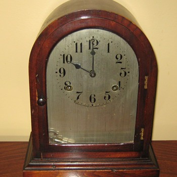 "1917 Waterbury ""Engelwood"" Mantel Clock - Clocks"