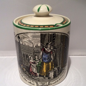 Vintage Preserve jar - China and Dinnerware