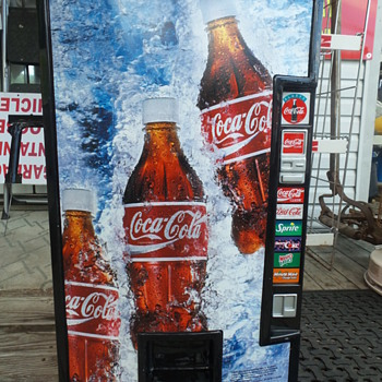 Faux Coke Vending Machine - Coca-Cola