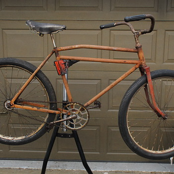 1930's MEAD-RANGER (?) SKIP-TOOTH  BICYCLE RE-BUILD - Sporting Goods