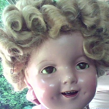 "22"" Composition Shirley Temple Doll - Dolls"