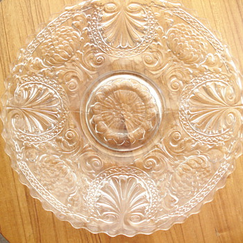 Another possible Fry plate? - Glassware