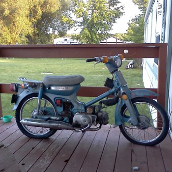 1972 honda trail 70 - Motorcycles