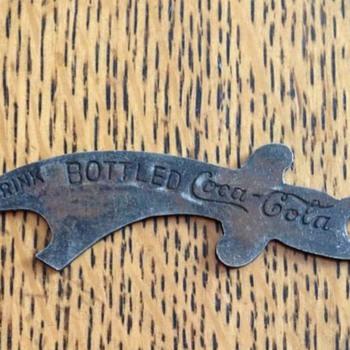 1920-1930 Sword or Sabre Coca Cola opener - Coca-Cola