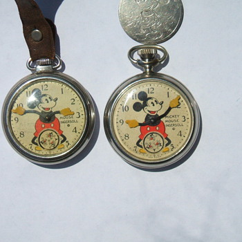 Case Styles of the Ingersoll Mickey Mouse Pocket Watches