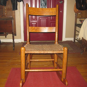 Shaker Style Rocking Chair - Furniture