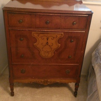 Antique Dresser - Matching - Furniture
