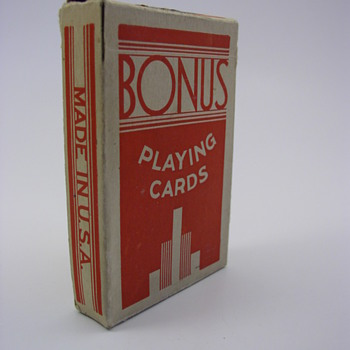 Bonus Playing Cards