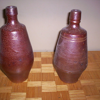 Stoneware Bottles