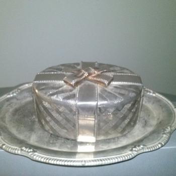 silver present box