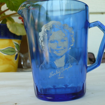 Shirley Temple Milk Pitcher - Glassware