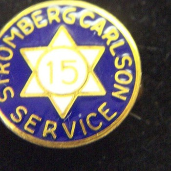 Stromberg Carlson Pin