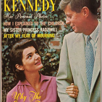 "1964 - ""Jacqueline Kennedy"" Tribute Magazine - Advertising"
