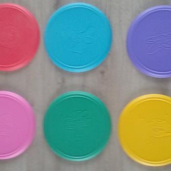 Vintage Disney frisbee's