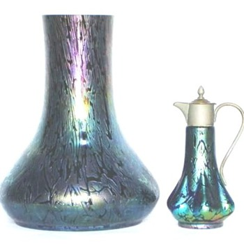 KRALIK BACILLUS GLASS, THE EPITOME OF JUGENDSTIL - Art Glass