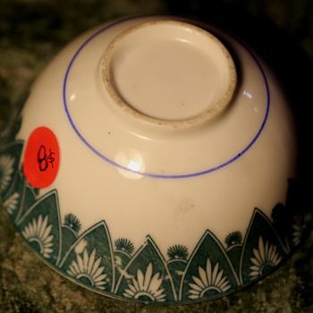 Odd Chinese Bowl - Pottery