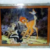 A mystry from Wal Disney-Stained Glass Painting of Bambi, Thumper and Flower