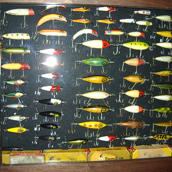 My Hand Made South Bend Lure Case - Fishing