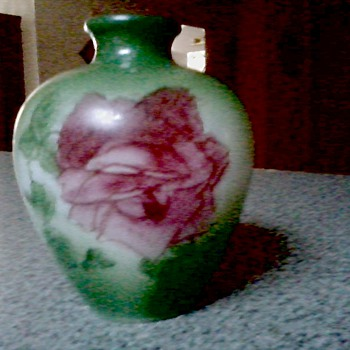 Cute Little Victorian Hand Painted Opaline Bud Vase
