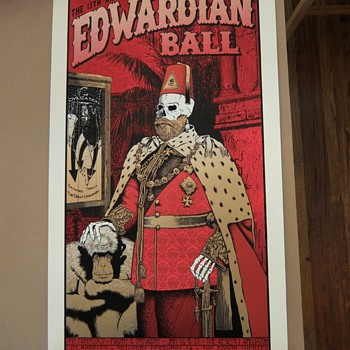 Edwardian Ball poster, Chuck Sperry, 2015