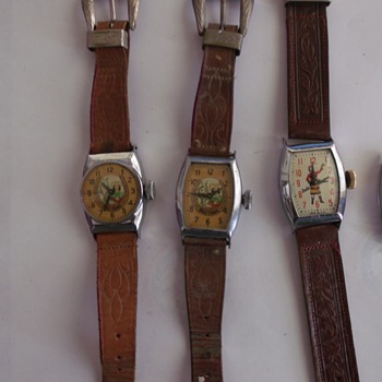 1948-1950's Dale Evans Wrist Watches - Wristwatches