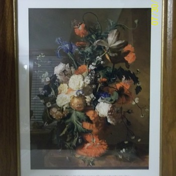 Jan van Huysum, 1682-1749/ Flowers In An Urn - Arts and Crafts
