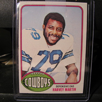 Harvey Martin Rookie Card - Cards