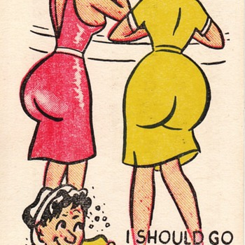 Adult Risque Novelty Joke Cards (The Kind Men Like!)