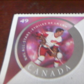 Ted Lindsay Stamp - Stamps