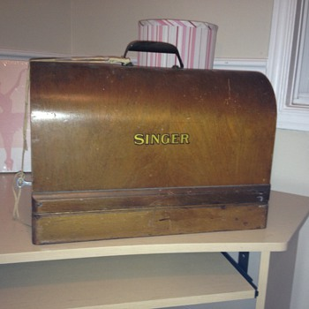 My new singer sewing machine