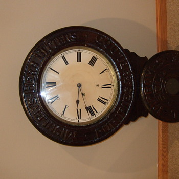 Baird Wall Clock for Mishlers Herb bitters - Clocks