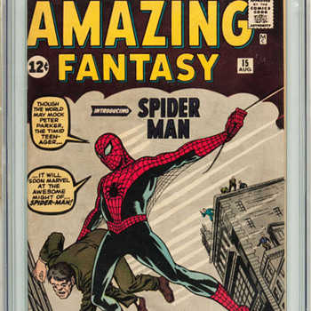 Amazing Fantasy #15 (Marvel, 1962) - Comic Books