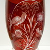 JUGENDSTIL RUBY FLASHED GOBLET ?