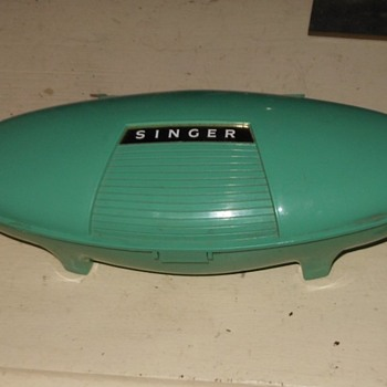 Singer Buttonholer and Case 1960