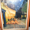 Old Picture of a yellow cafe buliding