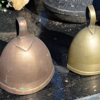 Brass and Bronze Bells - India S.S.S. 591?? - Asian