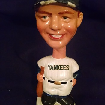 Yankees Mickey Mantle Bobblehead - Baseball