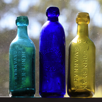 -----Savannah Ginger Ale Bottles----- - Bottles