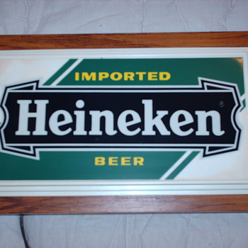 Beer sign  - Breweriana