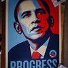 Shepard Fairey, Obey Giant - Progress Screen Print Poster