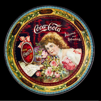 1901 Coca-Cola Tray