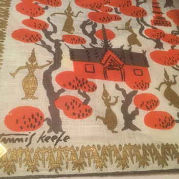 TAMMIS KEEFE  Hankies Galore! NEW WITH TAGS...PRISTINE! - Mid-Century Modern