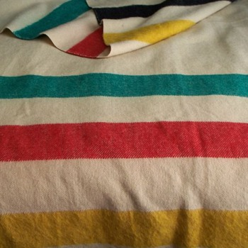 4-Point Hudson's Bay Company Blanket