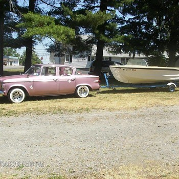 1959 Glasspar Avalon boat - Fishing