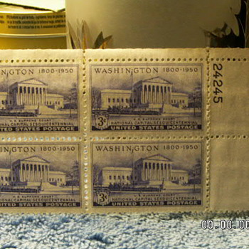 1950 U.S. Supreme Court National Capital Sesquicentennial 3¢ Stamp  - Stamps