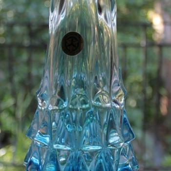 Yamaguchi Glass Vase Japan - Art Glass