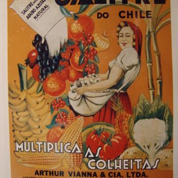 Nitrate propaganda - Advertising